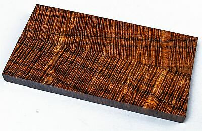 Premium Wood Old Growth Fiddleback Koa Knife Scales, Grips, Stabilized  SCL8193