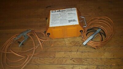 Nibco Lectro Electric Pipe Thawing Tool Flameless Soldering Tool