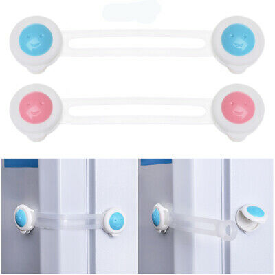 Baby Child Kid Drawer Cupboard Cabinet Wardrobe Door Fridge Safe Safety Lock