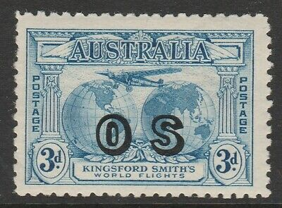 Australia 1931 Kingsford Smith 3d Airmail OS MLH