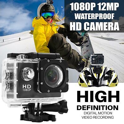12MP Waterproof Action Sports Camera SJ4000 1080P Mini DV Video Helmet DVR Cam
