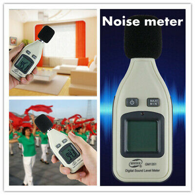 BENETECHGM1351 Digital LCD mini Portable Sound Level Meter Noise Tester Decibels