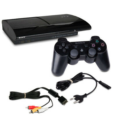 PLAYSTATION 3 - PS3 Console Super Slim 500 GB 4004C Nero + Controller + Cavo