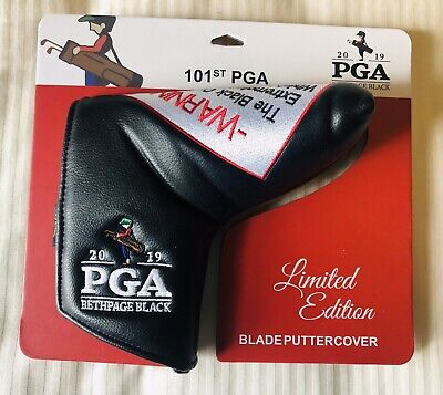 2019 Pga Championship Bethpage Black Limited Edition Putter Cover Tiger Woods