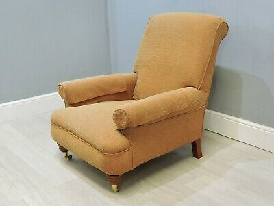 Victorian Antique Style Library Armchair    (2)