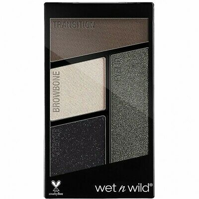 WET N WILD Color Icon Eyeshadow Quad Palette di ombretti - e338 Lights Out