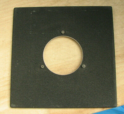 genuine Sinar F & P  lens board panel with compur 2 #2 52.2mm hole