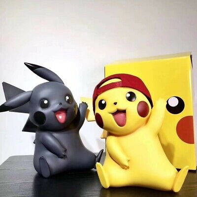 CH2 Toy Studio 1//1 Pikachu /& Mewtwo PVC Statue Toy In Stock Gift