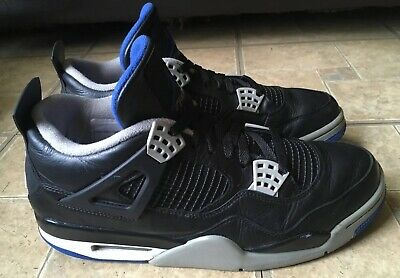 b4af2a611d29 Air Jordan Retro 4 IV Alternate Motorsport Black Royal Blue 308497-006 Men  Sz 11