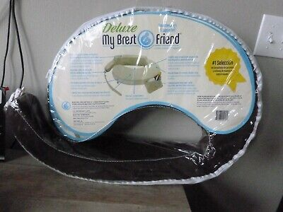 My Brest Friend  Deluxe Nursing Pillow, Dark Brown, Ideal for c-sections! F/S