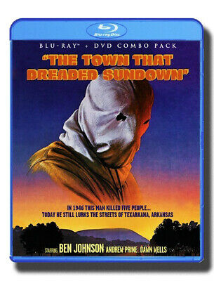 The Town That Dreaded Sundown & The Evictors - Blu-ray/DVD, Shout Factory (1976)
