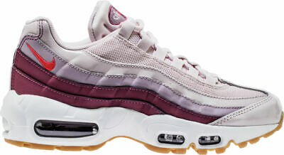 WMNS Nike Air Max 95 Barely RoseHot Punch Vintage Wine
