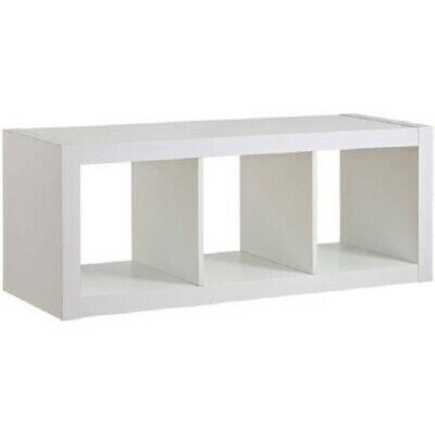 Excellent Better Homes And Gardens 3 Cube Organizer Storage Bench Pabps2019 Chair Design Images Pabps2019Com