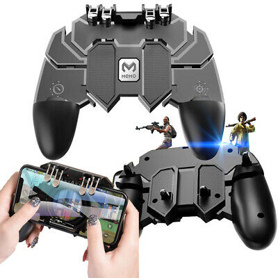 Mobile Game Controller Gamepad Trigger Aim Button L1R1 Shooter Joystick for PUBG