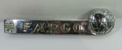 Fargo hood emblem right 41 1942 1943 44 45 1946 1947 1948 1949 1950 51 1952 1953