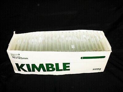 Kimble Disposable Glass Culture Tubes 16 X 125 mm  (Count 240)