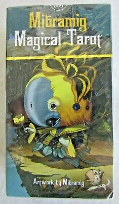 Mibramig Magical Tarot - 78 Esoteric Fortune Telling Cards - New Sealed Deck