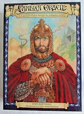 The Cameot Oracle - JOHN MATTHEWS - Esoteric Fortune Telling Occult Tarot Cards