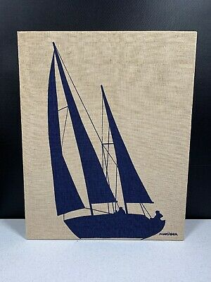 Marushka Sailboat Canvas Print Sailing Stretched Art 1978-9