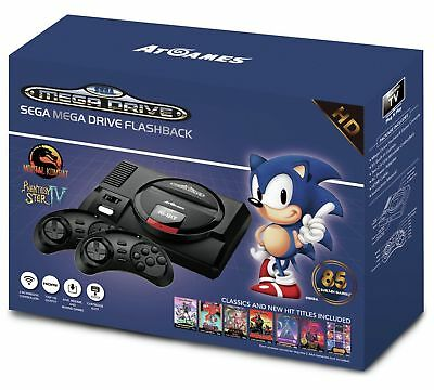 SEGA Mega Drive Flashback Mini HD Console New Retro Old School 85 Games