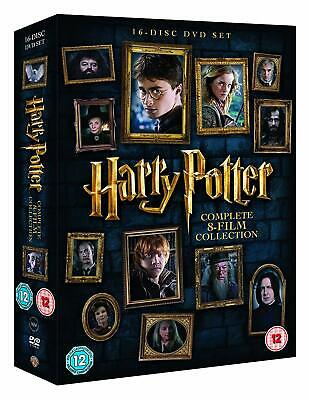 Harry Potter - The Complete 1 - 8 Film Collection (16 Disc DVD Set) New Sealed