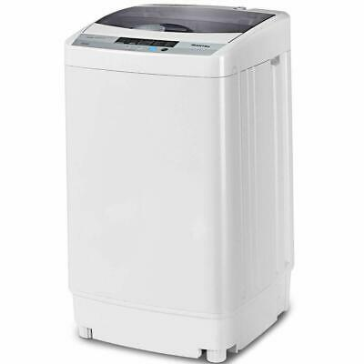Full-Automatic Washing Machine Portable Compact 1.6 Cu.ft Laundry Washer Spin wi