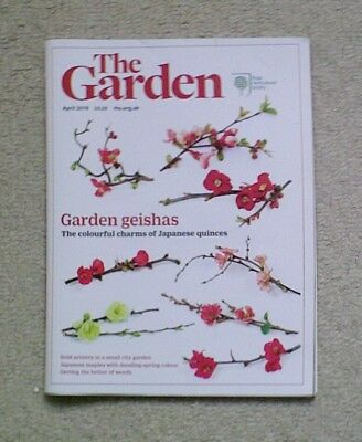 'The Garden' - April 2018 issue - RHS Royal Horticultural Society magazine