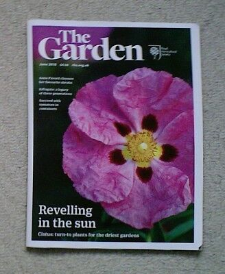 'The Garden' - June 2018 issue - RHS Royal Horticultural Society magazine