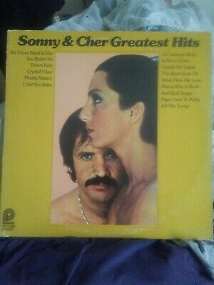 Sonny and Cher Greatest Hits 1974 Vinyl LP Album
