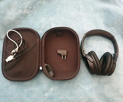 Bose Quiet Comfort 35 QC35 Wireless Headphones Noise Cancellation Music Black.