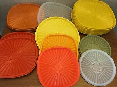 Tupperware Servalier Replacement Lids You Choose Color/Size 810-837-839-841-1205