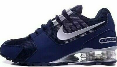 Nike  Shox Avenue R4802   Men's Running Shoes Sneakers Dark/Blue Size 10