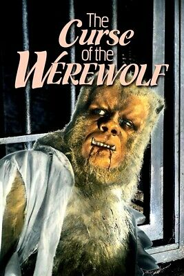 16mm Feature Film: THE CURSE OF THE WEREWOLF (1961) Letterboxed - HAMMER HORROR