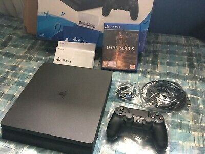 Sony PlayStation 4 Slim 500GB Bundle (Controller DualShock , DARK SOULS) .