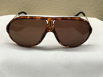 9019d44e1f26d Vintage Tortoise Shell Carrera ULTRAPOL 5512 Sunglasses from the late 1980s