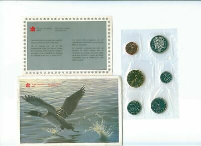 1990 CANADA Mint Proof Like Set Uncirculated with COA and Envelope