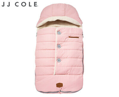 JJ Cole Toddler Urban BundleMe Pram Stroller Sleeping Bag Footmuff - Blush Pink