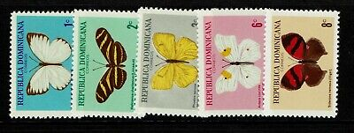 Dominican Republic SC# 622 - 626 Mint Hinged - S7583