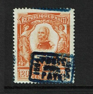 Haiti SC# 106 Mint Hinged w/ Blurred or Double Overprint - S7626