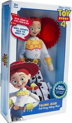 NEW Toy Story 4 Talking Plush Jessie from Mr Toys
