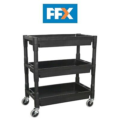 Sealey CX205 Trolley 3-Level Composite Heavy-Duty