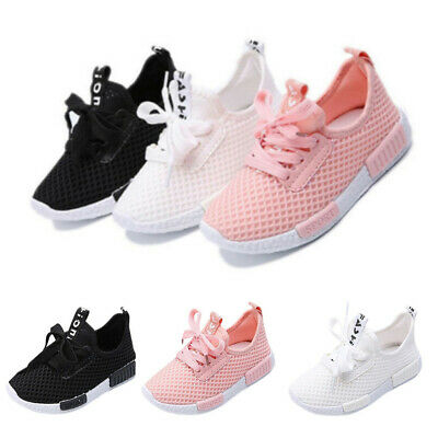 Toddler Kids Boys Girls Trainers Sneakers Sports Running Shoes Baby Casual Shoes