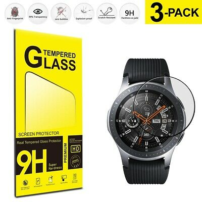 Samsung Galaxy Watch 46mm (3-Pack) Tempered Glass Phone Film Cover Guard