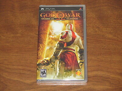 God of War Chains of Olympus PSP Factory Sealed New PlayStation Portable Black