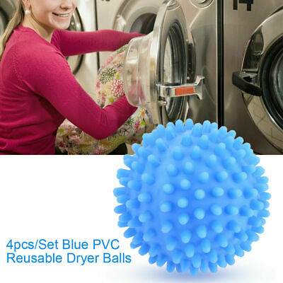 4pc Laundry Wash Dryer Ball Laundry Drying Fabric Softener Reusable Laundry Ball