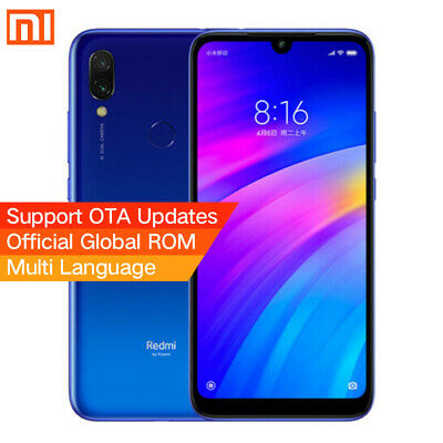 "New Xiaomi Redmi 7 6.26"" 3GB+32GB MIUI10 Snapdragon 632 Ocho núcleos Global Azul"