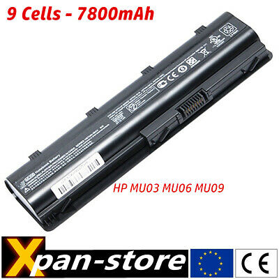 batterie pour HP G62 G72 SPARE 593553-001 593554-001 593562-001 MU06 NOTEBOOK
