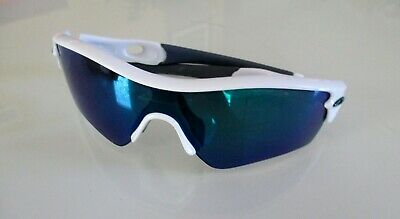 6d256ae8dcb92 Oakley Radar Path Sunglasses 09-767 White Frame w  Iridium Lens (Case