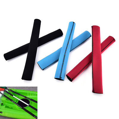2pcs Kayak Canoe Boat Colorful Paddle Grips Prevent Blisters Calluses Fray ED