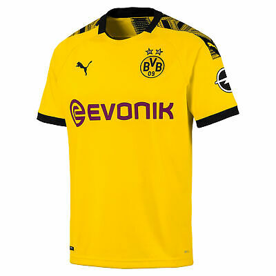 Puma Official Mens BVB Borussia Dortmund Home Football Shirt Jersey Top 2019-20
